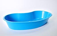 Лоток хирургический, почкообразный, пластиковый, объем 500мл