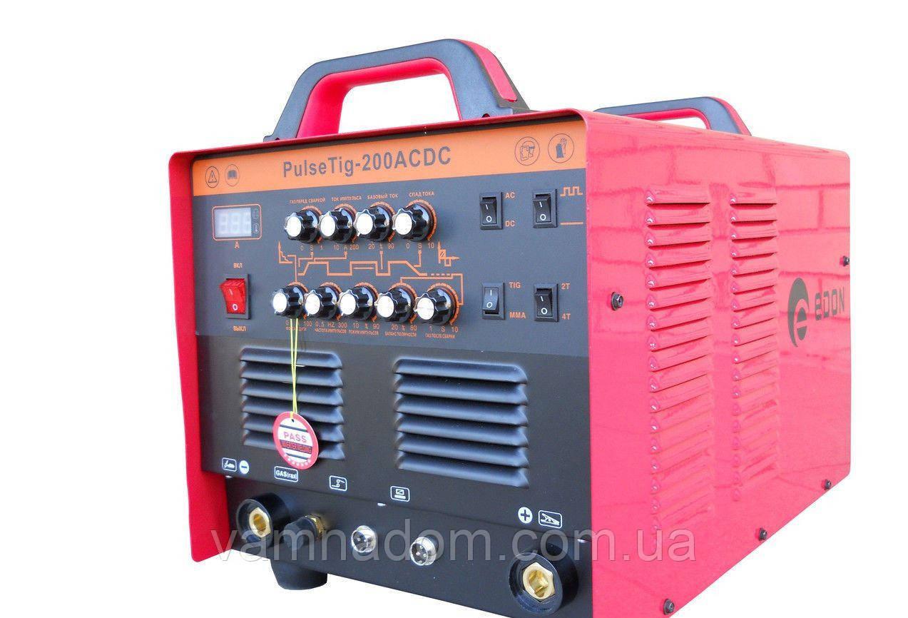 Аргонно-дуговой сварочный аппарат Edon PULSETIG-200 AC/DC
