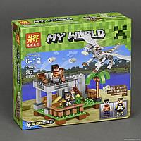 """Конструктор Minecraft Bela 33025 """"Белый дракон"""""""