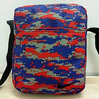 Мужская сумка борсетка nike цветная