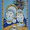 Ткань полотенечная/салфеточная 95013 (ТИР) НАБ. 3813/8013 150СМ
