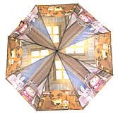 Яркий детский механический зонтик зверушка art. 8770 маша и медведь (101209)