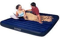 Двуспальный надувной матрас Intex 68755 (183х203х22 см)