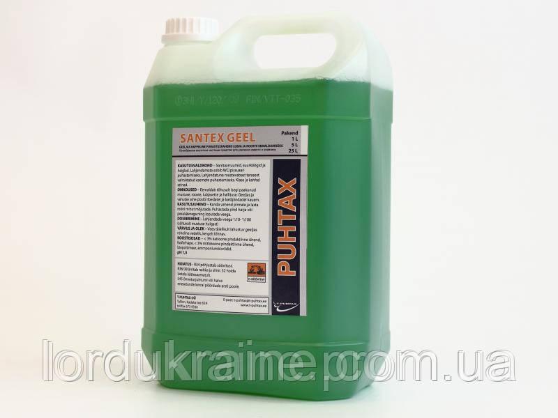 Гелеобразное средство для удаления накипи и ржавчины SANTEKS-GEEL, 20 литров