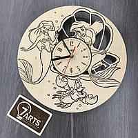 Часы настенные детские «Русалочка»