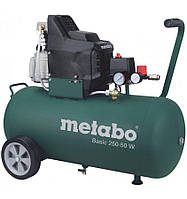 Компрессор Metabo Basic 250-50 W + бесплатная доставка