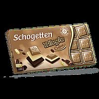 Шоколад Schogetten Трилогия со вкусом кофе, 100 г