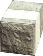 Блок рядовой половинчатый