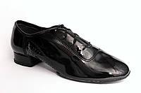 Туфли танцевальные Мужской стандарт лак (мс-1)