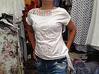 Женская футболка Размер М/Л Белого цвета