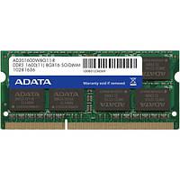 Модуль памяти SO-DIMM DDR3 8Gb 1600MHz Adata.