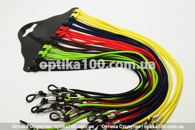 Шнурок-резинка для очков. 1 шт. Цвета в ассортименте