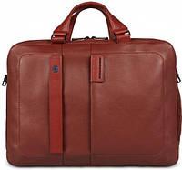 Солидный мужской портфель из натуральной кожи Piquadro, PULSE/Red CA3347P15_R красный