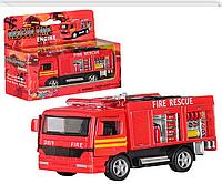 Металлическая модель пожарной машины