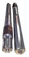 Полуось на мотоблок удлинённая (L = 500 мм., 8 шлицов, пара)