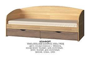 Кровать Комфорт, производитель мебельная фабрика Эверест