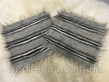 Накидка на стулья из натуральной овечьей шерсти 40/40 см.