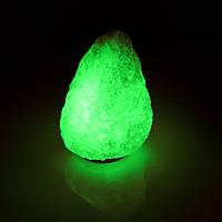 Соляная лампа BactoSfera SALTKEY ROCK Big Green 5 - 6 кг