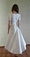 Платье женское белое 01