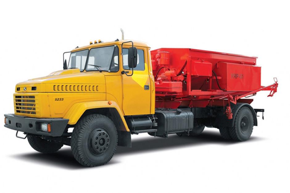Машина для ямочного ремонта КрАЗ 5233Н2