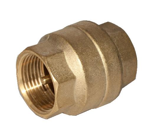 """Обратный клапан 3/4"""" с латунным штоком ASCO Armatura"""