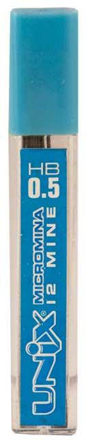 Стержни для механических карандашей 0,5мм HB