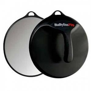 BABYLISS PRO Зеркало заднего вида с ручкой, круглое