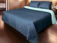 """Покрывало для кровати """"Vintage"""" P-05 Синий 220х240"""