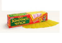 """Чипсы """"Золотистые"""" 100 г (48 шт) ТМ """"Жайвор"""""""