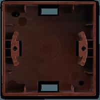 Visage Орех Коробка для наружного монтажа