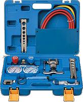 Набор для обработки труб Value VTB- 5B-ll (2трубореза+вальцовка808-I+коллектор R410A.R407C.R22.R134A+ шланги)