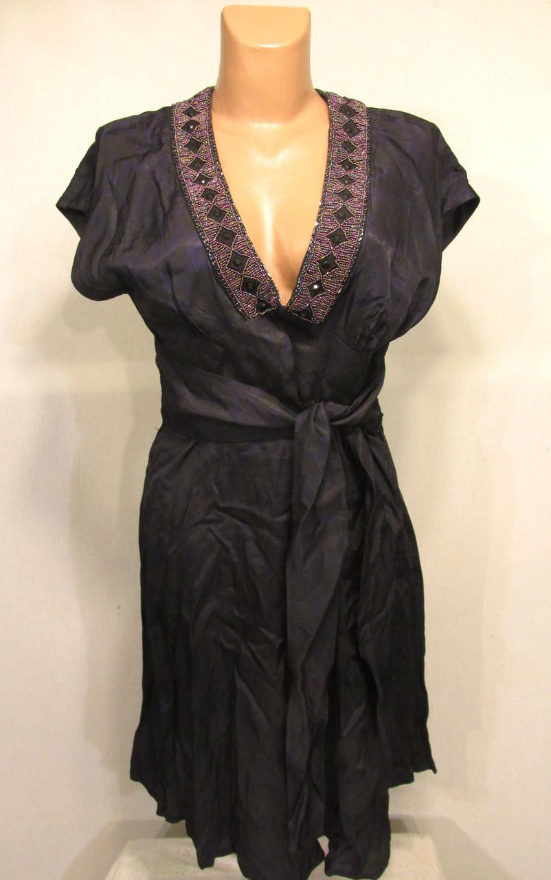 Стильное платье FORECAST, S, Темно Сиреневое! Как Новое!