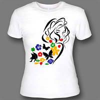 Нанесение логотипа на футболку в Днепропетровске опт шелкотрафаретная печать