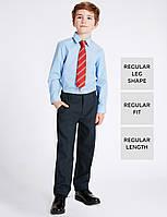 Школьные брюки тёмно-синие на мальчика 6-7-8-9-10 лет Классика Marks&Spencer (Англия), фото 1
