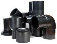 Отвод литой ПЭ 100 SDR 17 PN 10 д.250/45