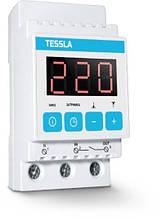 Реле контролю напруги на дін рейку Tessla D40t 40А
