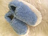 Тапочки з натуральної овчини кольорові, фото 6