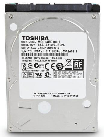 "Жесткий диск 2.5"" 1Tb Toshiba"