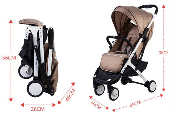 Прогулочная детская коляска YOYA plus
