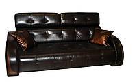Современный двухместный диван в коже - Modena (160 см)