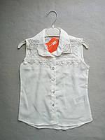 Детская блузка на девочку 6-9 лет