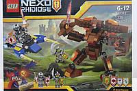 "Конструктор Nexo Knights"" Робот-машина 2в1"" 432 детали"