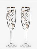 Свадебные бокалы VIP, модель 5