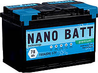 Аккумулятор NANO BATT Premium - 78 +правый 780 A