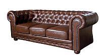"""Кожаный диван 3х местный в английском стиле """"Chester"""" (Честер)"""