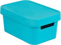 Синяя коробка с крышкой на 4,5 л INFINITY Curver 229388