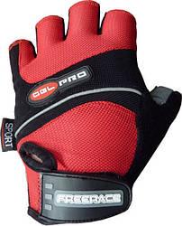 Велоперчатки Gel Pro FC - 1320 M, Красный