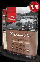 Orijen Regional Red 11,4 kг - беззерновой корм из красного мяса для собак всех пород, возра