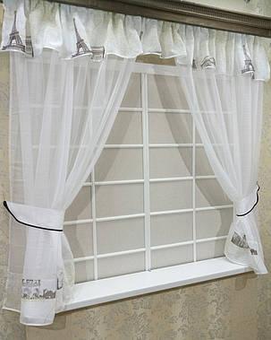 """Кухонные шторы """"Париж Беж"""", фото 2"""