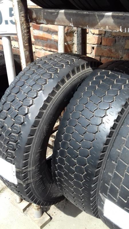 Шины б.у. 265.70.r19.5 Michelin XJW4+ Мишлен. Резина бу для грузовиков и автобусов